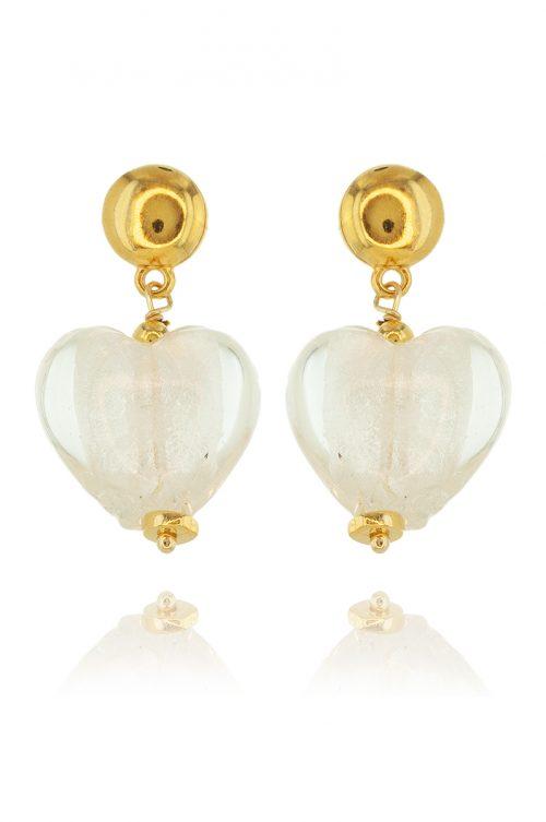 HEART OF GLASS EARRINGS