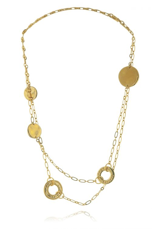 THE CIRCLES CHAIN NECKLACE