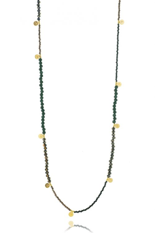 SMALL COINS LONG NECKLACE